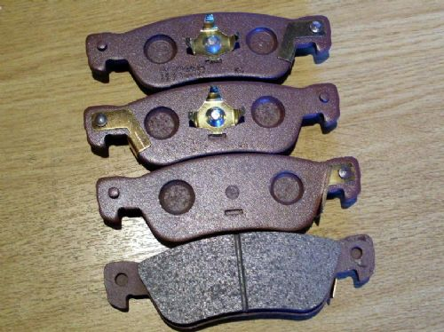 Brake pads, rear, Trooper 2.8 TD, MU